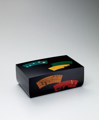 蒟醬扇面文箱