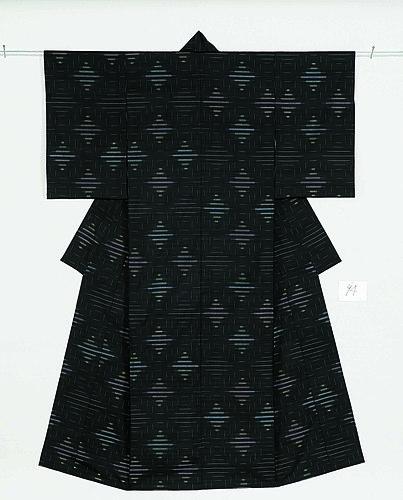 紬織着物「星漢」