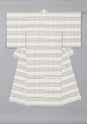風通織木綿着物「佳き日」