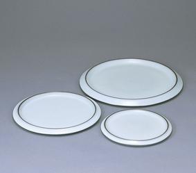 中野月白瓷組平皿