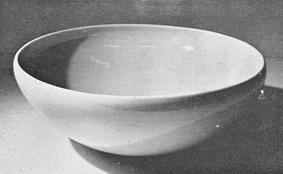 青白瓷大鉢