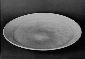 青白磁大皿