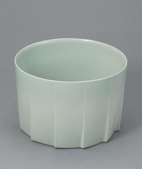 青白磁鉢「稜」