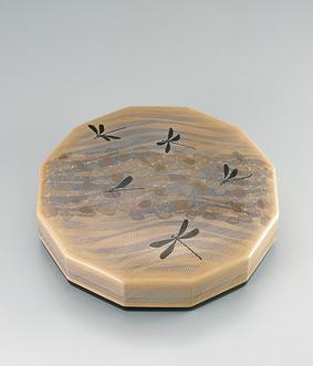 籃胎蒟醤菓子器「川瀬」