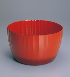 乾漆花塗鉢