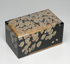 蒔絵箱「柿日々」