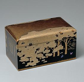 蒔絵箱「残雨好日」