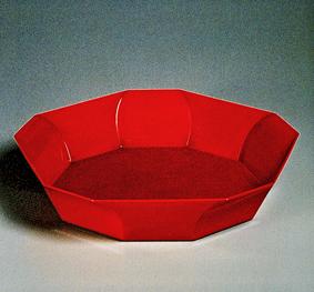 乾漆面取鉢