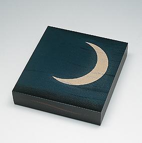 月あかり蒟醤色紙箱