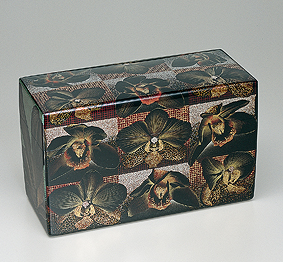 華蒔絵飾箱