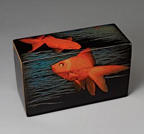 涼蒔絵飾箱
