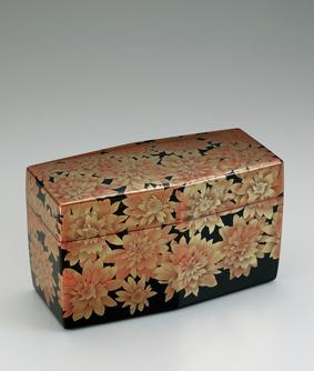 楽園蒔絵飾箱
