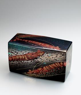 蒔絵青貝飾箱「命」