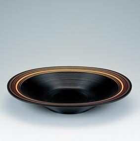 キュウ漆曲輪造鉢「棚田」