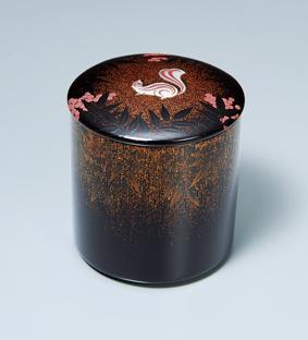 蒔絵螺鈿茶器「穐陽」
