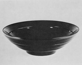 ケン胎黒漆鉢