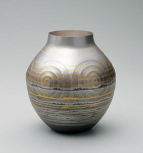 南鐐花瓶「遠い海」