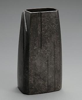 鋳朧銀花器