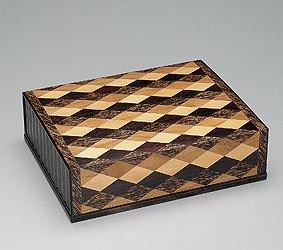 檳榔樹菱文木彩箱