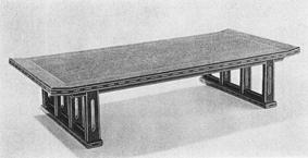 桑造木象嵌卓