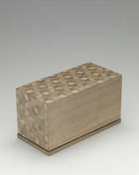 神代杉柾合せ飾箱