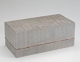 神代杉木画箱