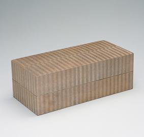 神代杉木画飾箱