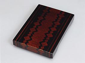 截金透塗硯箱「水茎(壱)」